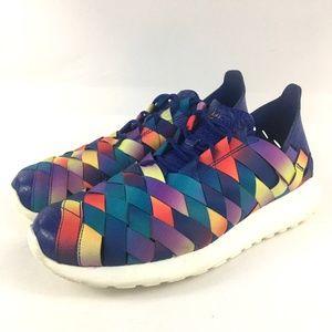 RARE NIKE Roche Run Premium Galaxy Rainbow Sneaker